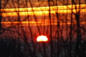 Sonnenaufgang 8-02-2010