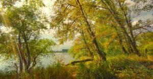 Herbst in Lauenburg an der Elbe von Norbert Dahlman